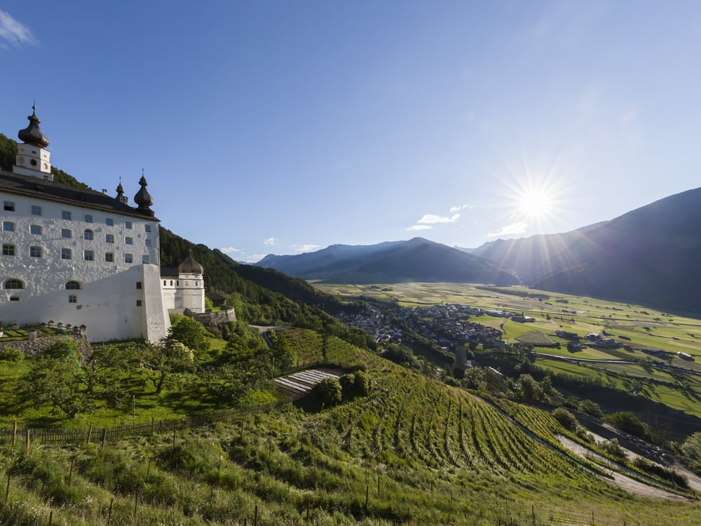 Kloster Marienberg im oberen Vinschgau