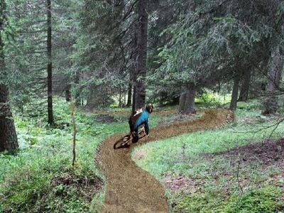 Mountainbike nelle Dolomiti del sud