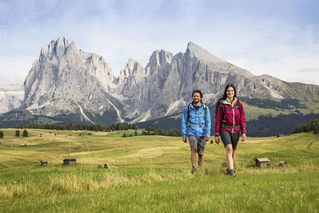 Walking tour of the Dolomites from hotel to hotel