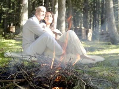 La magia della fumigazione con erbe locali
