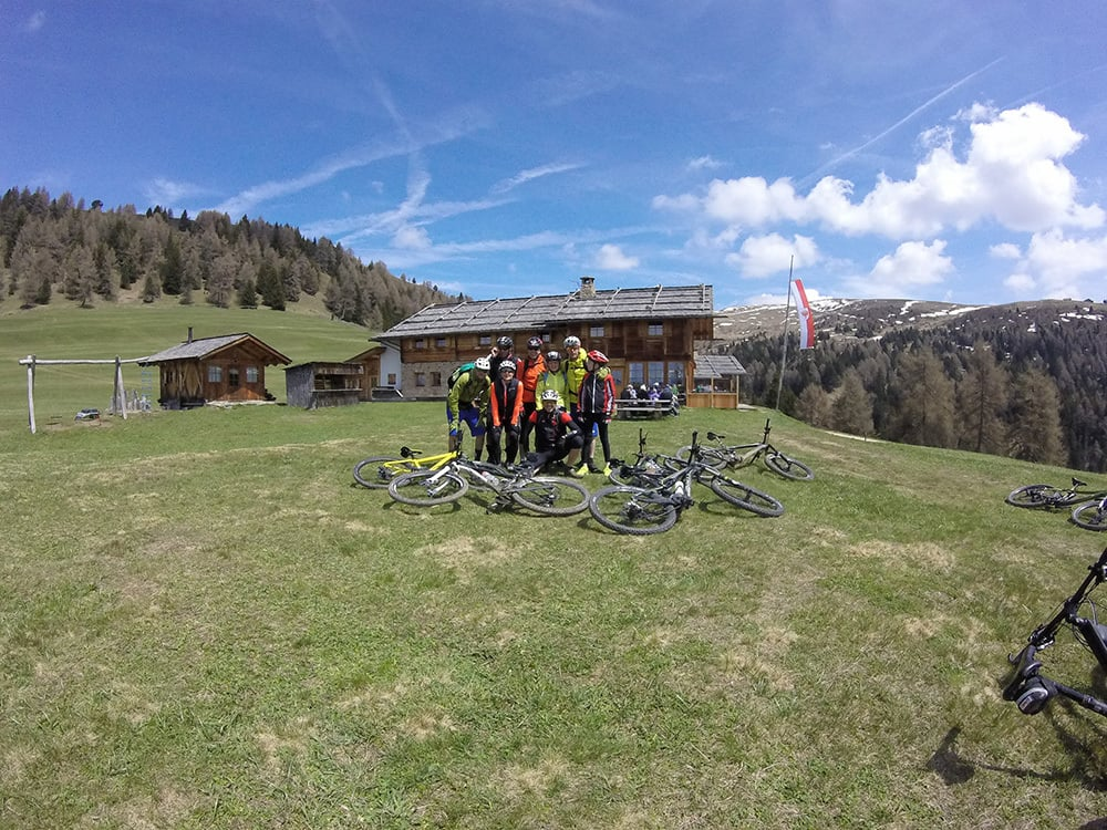 Geführte Biketour auf die Kreuzwiesenalm mit Hotel Taubers Unterwirt