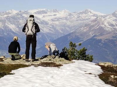 "Sentiero circolare panoramico ""Steiner Mandl"" a Jochtal/Valles"