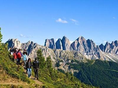 Drei-Gipfel-Tour auf der Plose/Brixen
