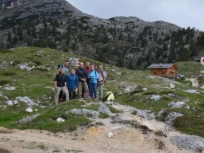 Wanderung zur Rossalm (2164m)