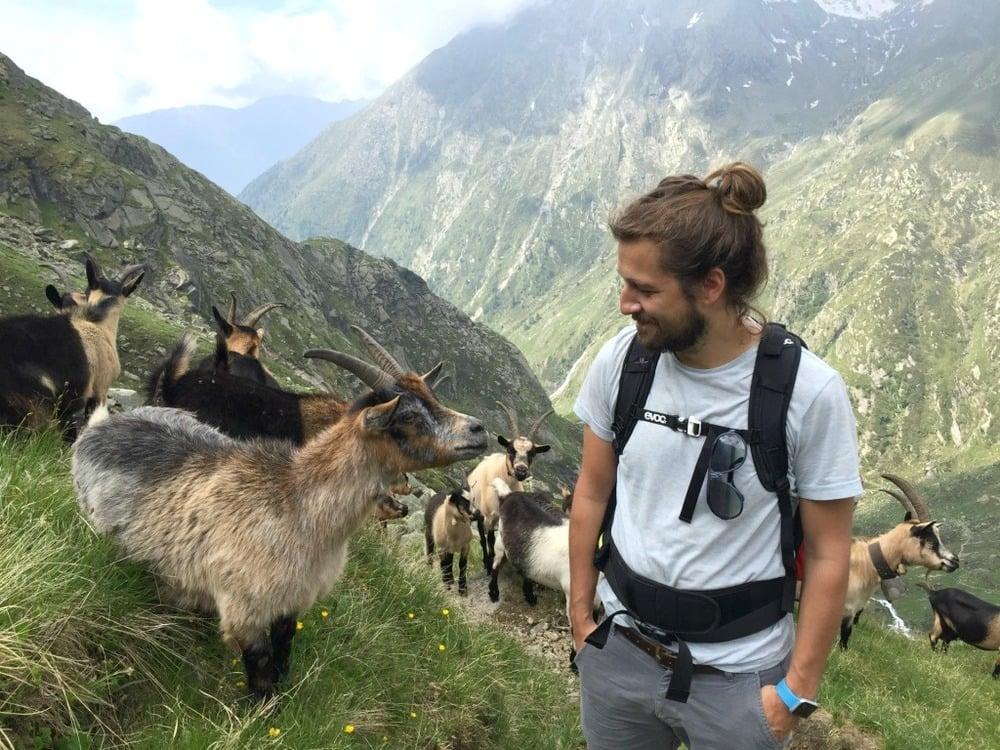Un'avventura sul Sentiero Franz Huber