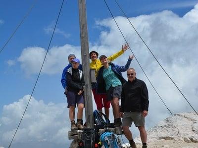 Grandiosa escursione per esperti sulla Croda del Becco
