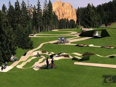 Nuovo Bikepark a Carezza
