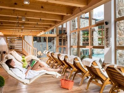 Wellness in den Dolomiten