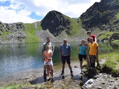 Escursione guidata al Monte Riepenspitz e lago nero