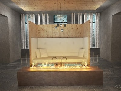 Neuer Saunabereich im Gerstl