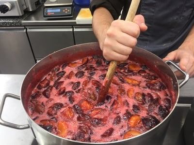 Hausgemachte Zwetschgen-Marmelade