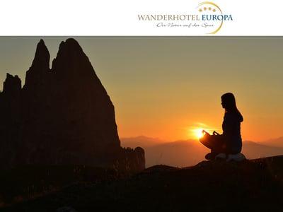 Durchatmen im Vitalpina Wanderhotel Europa