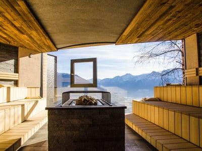 Unsere Weitblick-Sauna