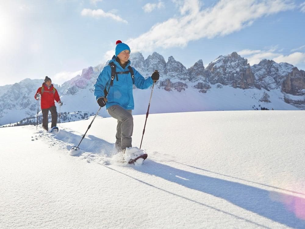 Sulla neve rispettando l'ambiente