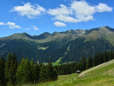 Escursione sulla baita Oberhaberer