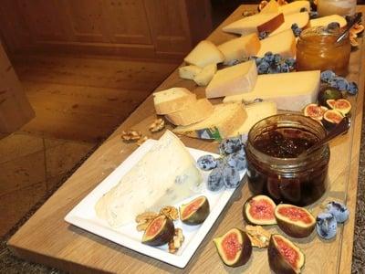 Buffet di formaggi altoatesini