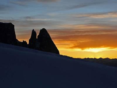 Sciare sull'Alpe di Siusi nel cuore delle Dolomiti