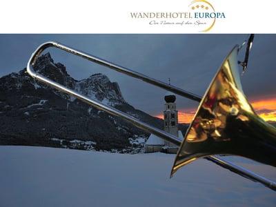 Swing on Snow on Alpe di Siusi