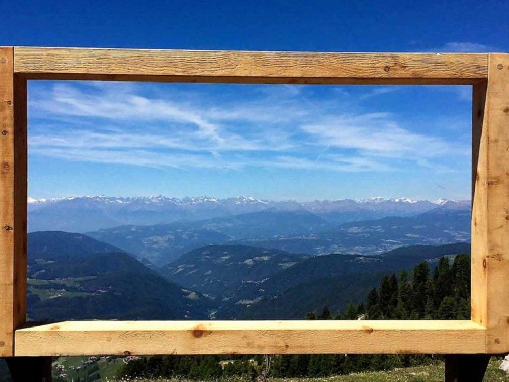 Mountain cinema in the Val d'Ega