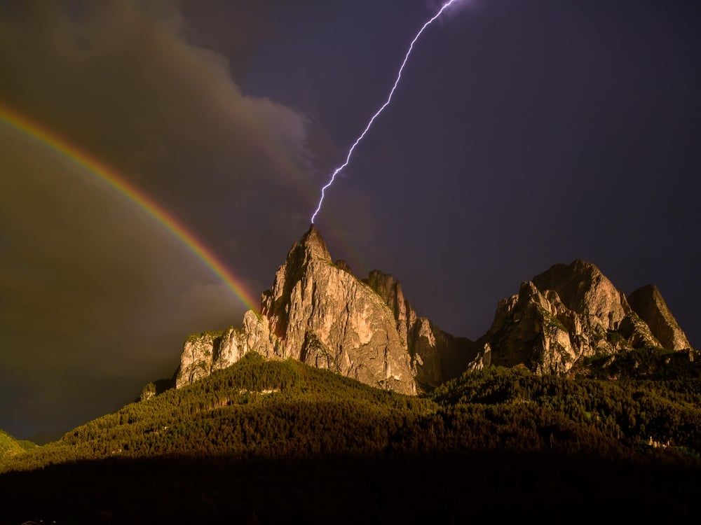 Fleshlight over the Dolomites