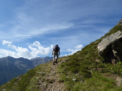 Il tempo perfetto per tour alti in montagna