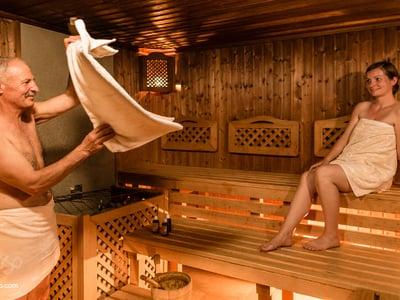 Sauna panoramica