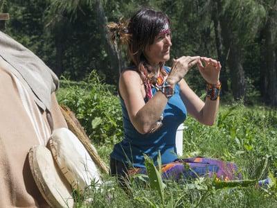 Nach den Guariani Indianern vor 2.000 Jahren - Schwitzhüttenritual