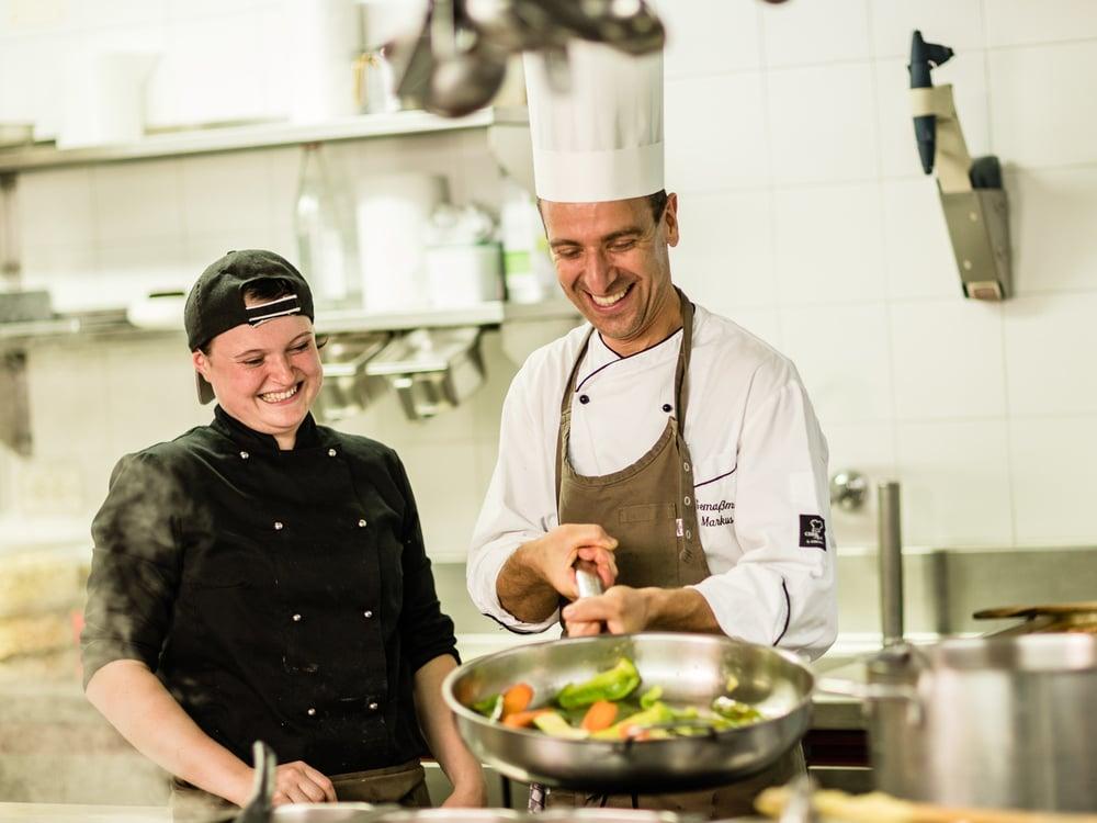 Corso di cucina con capocuoco Markus