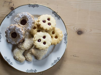 Vitalpina Christmas baking: gluten-free and vegan