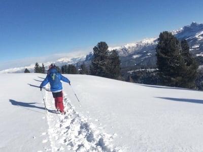 Winterwanderung mit Heike