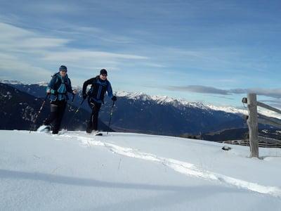 Schneeschuhwanderung zur Kreuzwiesenhütte (1.925 m)
