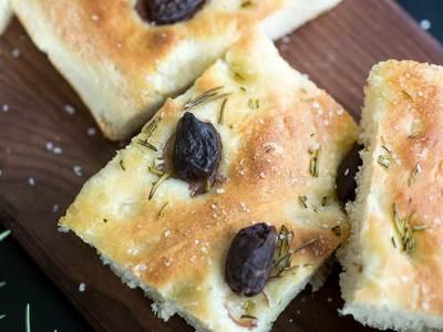Focaccia d'olive