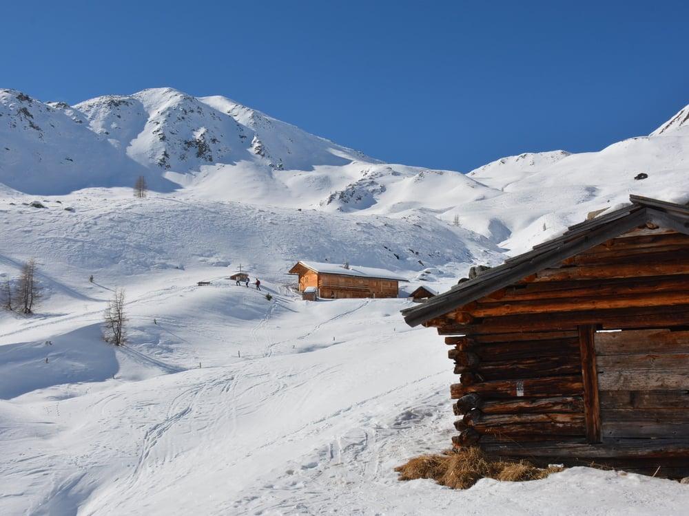 Schneeschuhtour zur Pfinnalm