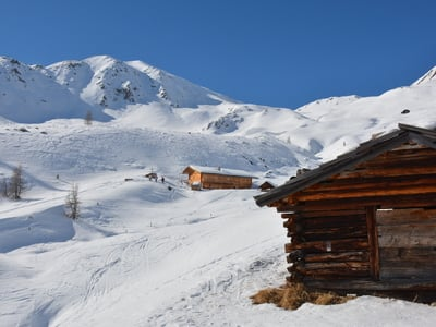 Snow shoe tour to the Pfinnalm