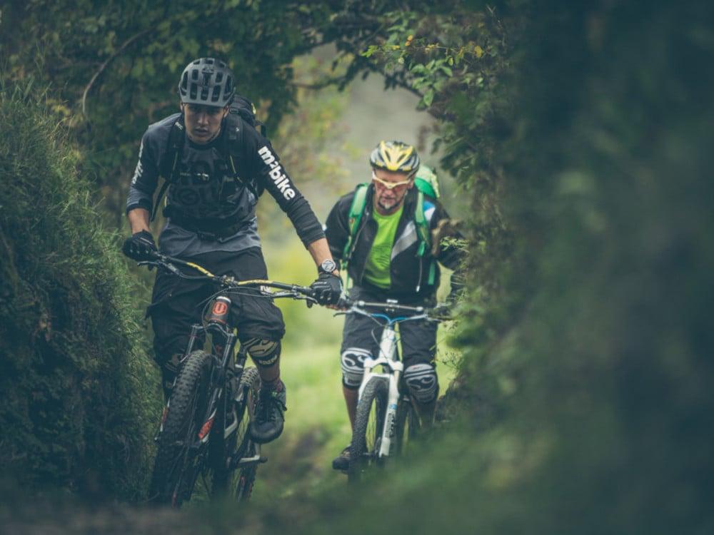 Mit dem E- Bike durch Südtirol
