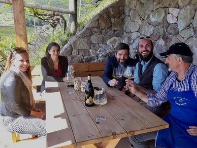 Weinreise ins frühlingshafte Unterland