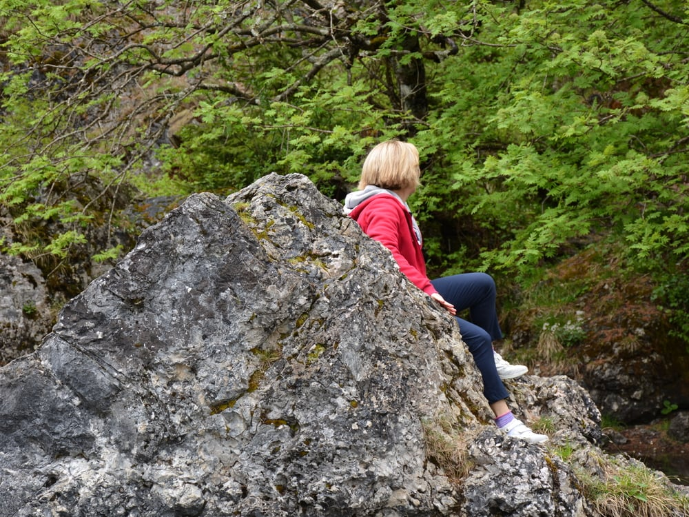 Aria fresca della montagna