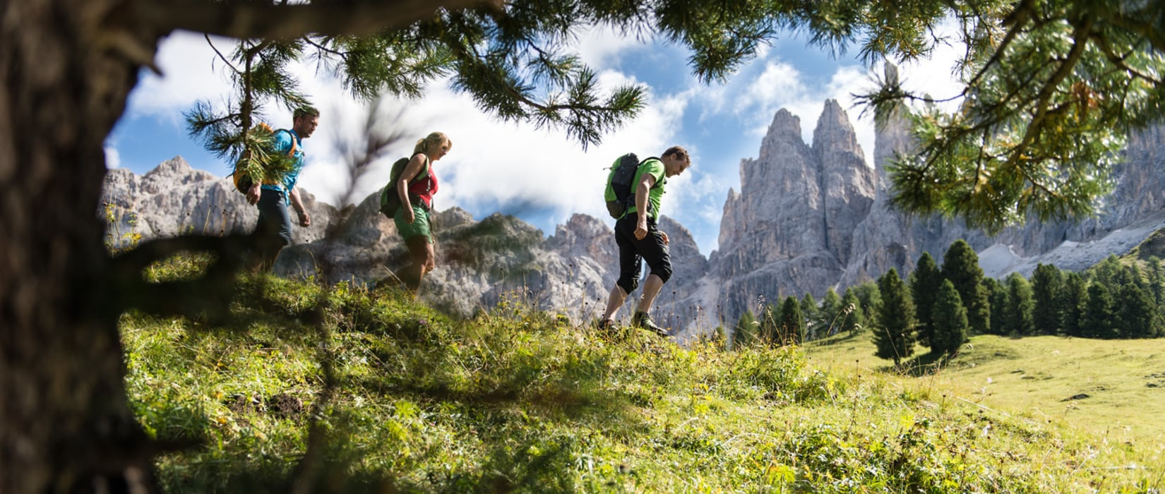 Frische Bergluft tanken in Südtirol