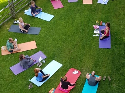 Yogatage im Waltershof