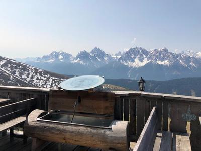 Bonnerhütte und Pfannhorn