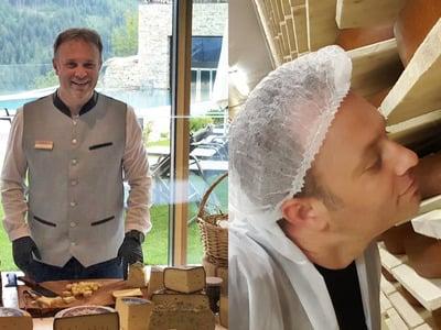 Degustare formaggi altoatesini al Tratterhof