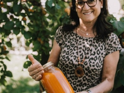 Vinschger Marillenmarmellade hausgemacht