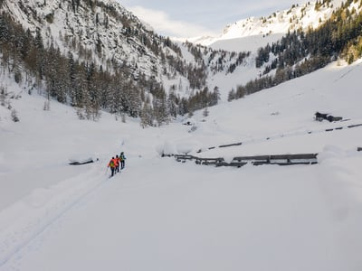 Winterurlaub in Jaufental