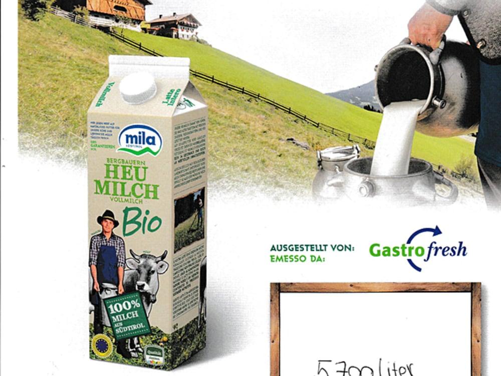 Aus Liebe zur Natur: Bio Milch & Butter aus Südtirol