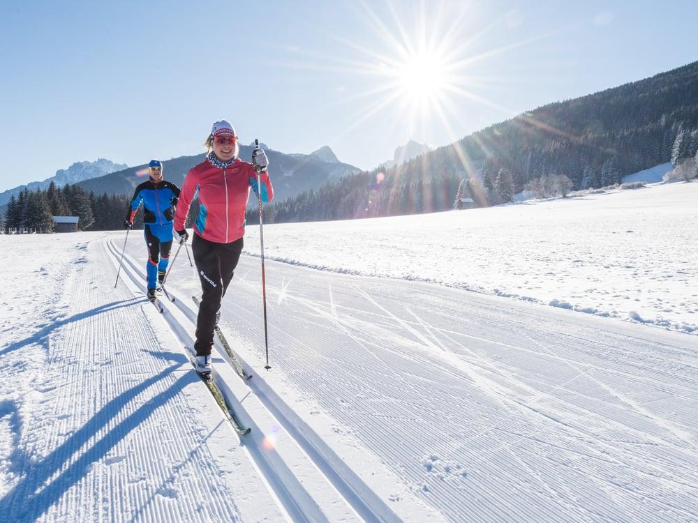 Puro piacere dello sci di fondo❄️☃️
