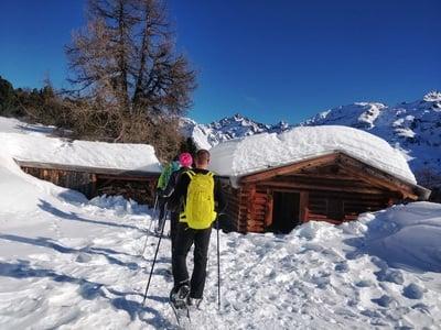 Schneeschuhwandern im Martelltal
