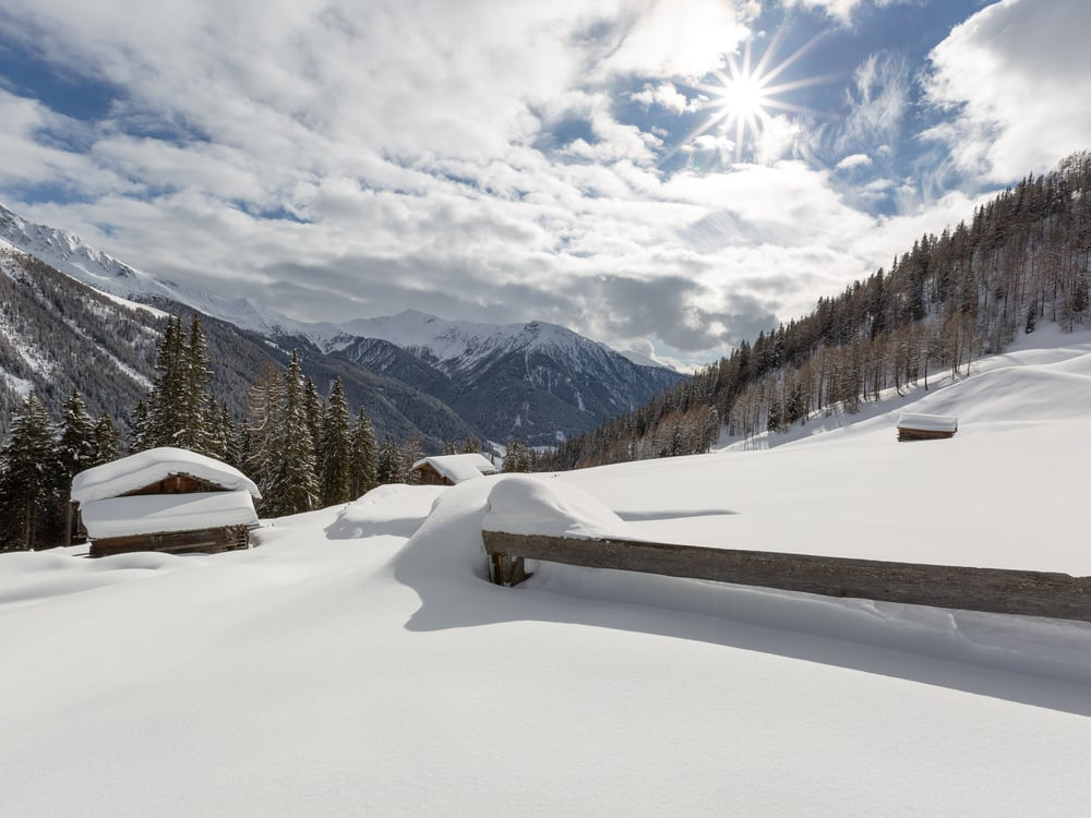 L'inverno in Valle di Casies