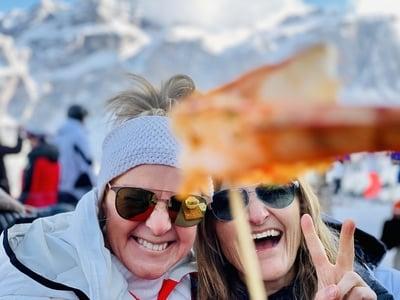 Skifahren Deluxe mit Taubers Unterwirt