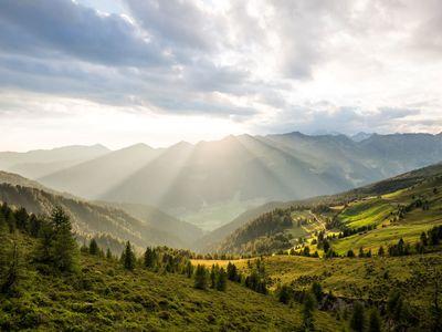 Ampi pascoli di montagna e rifugi sicuri 💛🌞