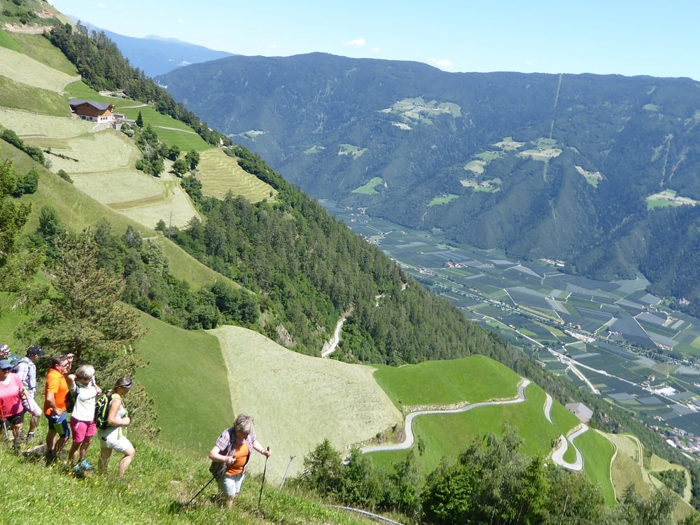 Beautiful hiking tour on Alta Via di Merano